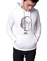 "<span class=""a-offscreen"">[Sponsored]</span>One Punch Unisex Hoodie Saitama Sweatshirt Hooded Jacket"