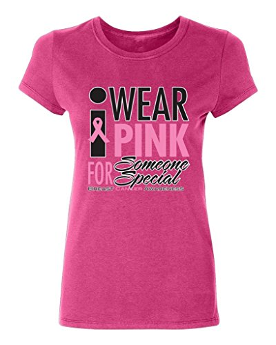 P&B I Wear for Someone Special Awareness Women's T-Shirt, 3XL, Cyber Pink