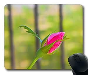 Pink Rose 19 Mouse Pad Desktop Laptop Mousepads Comfortable Office Mouse Pad Mat Cute Gaming Mouse Pad by icecream design