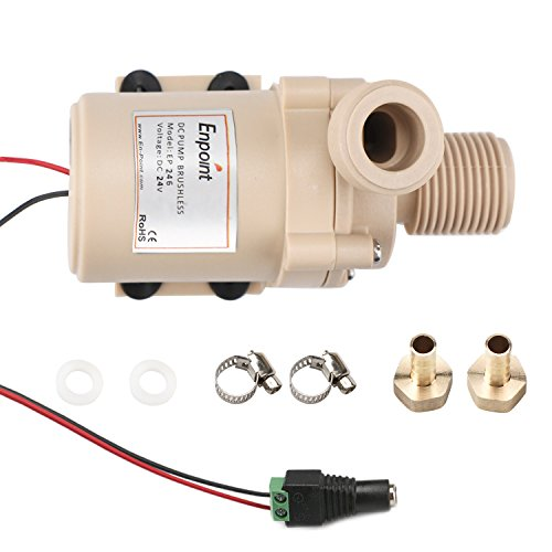 Ultra-quiet Brushless Submersible Water Pump - 8