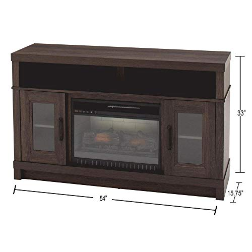 Home Decorators Collection Ashmont 54 in. Freestanding Electric Fireplace