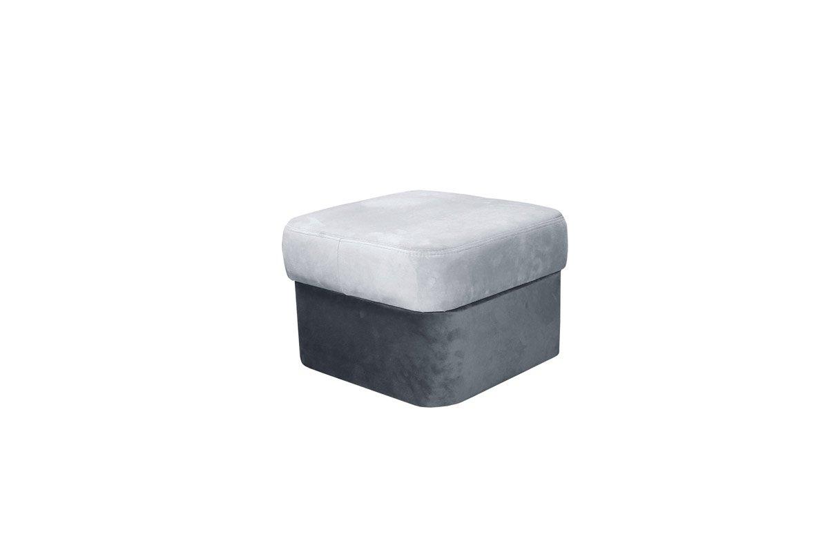 Polstermöbel-Set Calimero 1 mit Staukasten und Bettfunktion inkl. Hocker - Staukasten: Links