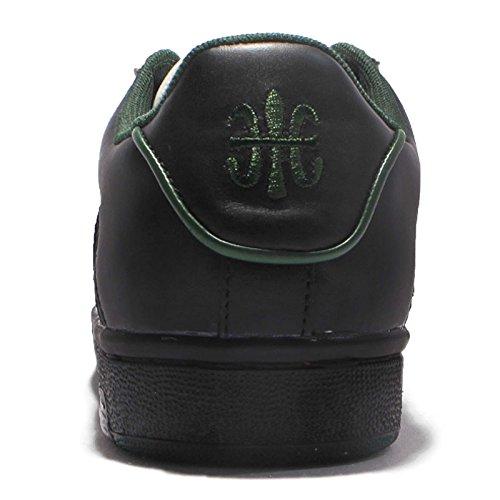 Royal Elastics Hombres Icon, Blanco / Negro / Dk.green Blanco / Negro / Dk.green