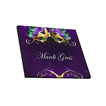 Amazon.com: VvxXvx Wall Art Painting Mardi Gras Gold Mask of ...