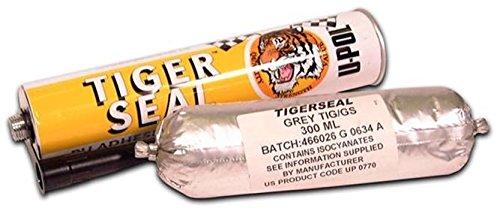 U-Pol Products 0770 Gray TIGER SEAL Adhesive/Sealant Sausage - 300ml