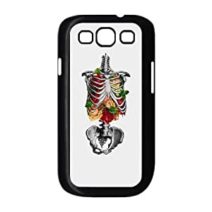 High Quality Custom Durable Case for Samsung Galaxy S3 I9300 Case Cover with Color Skull Image WMJU137505