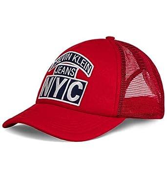Calvin Klein - Gorra K505K504567 638 - Rojo, U: Amazon.es: Ropa y ...