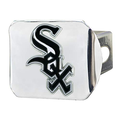 FANMATS MLB - Chicago White Sox Color Hitch - Chrome