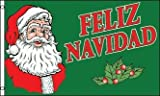 Merry Christmas Spain Spanish Feliz Navidad 5'x3' Flag