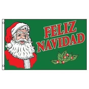 Merry Christmas In Spanish.Merry Christmas Spain Spanish Feliz Navidad 5 X3 Flag