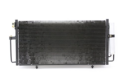 A/C Condenser - Pacific Best Inc Fit/For 3392 04-07 Subaru Impreza/Outback Sport All Models