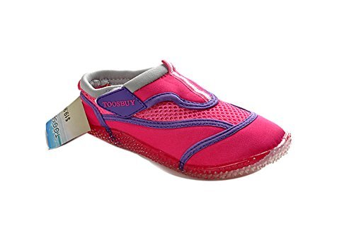 Price comparison product image Air Cool Girls's Slip on Water Shoes Beach Aqua Pink 19cm