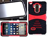 [ NP ARMOR ] Built-in Screen Guard Protector Faceplate Phone Case uBLACK/RED for LG G Stylo/LG Stylus / LS770 / H631