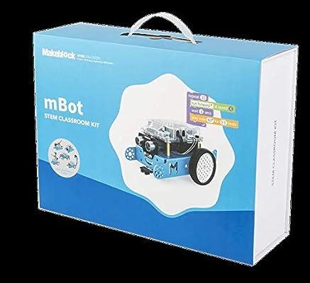 Mbot - STEM Classroom Kit with 2 Add-on Packs: Amazon com: gizmazeuae