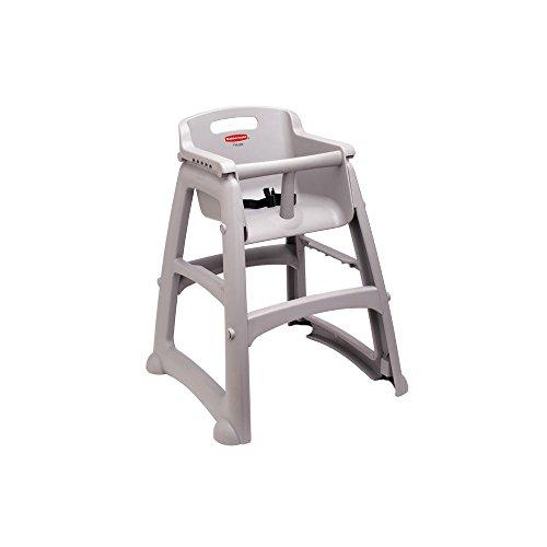 Rubbermaid Youth High Chair, Platinum