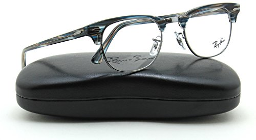 Ray-Ban RX5154 5750 Unisex Clubmaster Eyeglasses RX - able Frame, - Clubmaster Rx5154