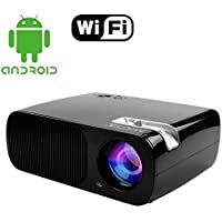 Mileagea LED LCD Projector 2600 Lumen 800x600 HD Home Theater Support HDMI TV VGA AV USB YPBPR