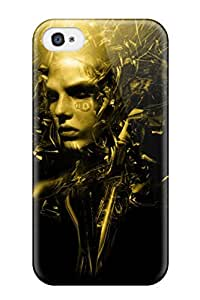 Awesome Design Cyborg Hard Case Cover For Iphone 4/4s