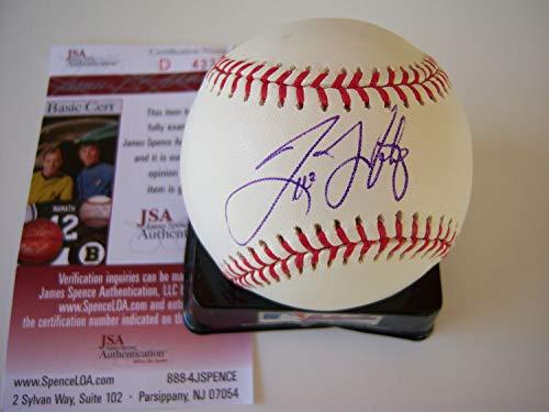 (Tino Martinez Yankees JSA Autographed Signed MLB Baseball - Certified Authentic)