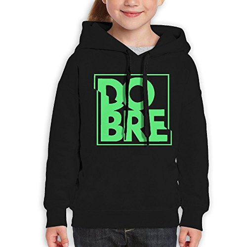Katie P. Hunt Dobre Brothers Cute Youth Hooded Tourism Sweatshirt Black (Brother Hoodie)