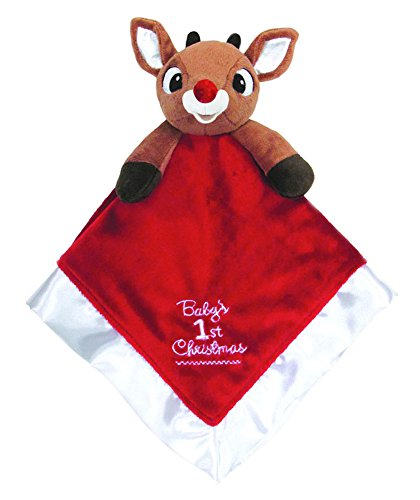 Baby's First Christmas Blanket, Rudolph