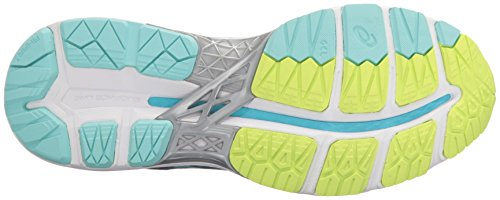 Asics Gel-kayano 23 - Zapatillas de running para mujer azul Cockatoo/Safety Yellow/Lapis Shark/Aruba Blue/Aquarium