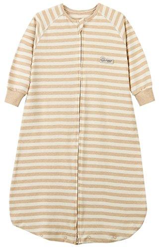 luyusbaby Baby Sleeping Bag 100% Cotton Toddler Wearable Blanket Large
