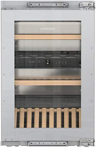 Liebherr HW3000 24 Inch Built-In Dual Zone Wine Cooler with 30 Bottle Capacity, in Panel Ready by Liebherr Products (Image #5)