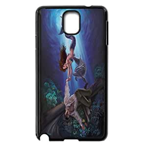 Unique Phone Case Design 2Dolphins Art Pattern- For Samsung Galaxy NOTE4 Case Cover