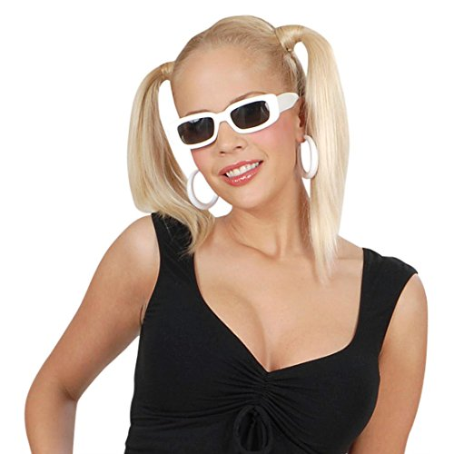 Accessori per Carnevale - Occhiali da sole bianchi per le feste z6Y2bP
