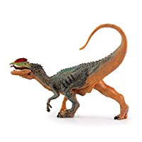 Geminismart Dinosaur Action Figure Jurassic World Park Dino Toys Green Science Educational Realistic Design Dinosaur Gift for Kids & Classroom Prize Supplies (Dilophosaurus)