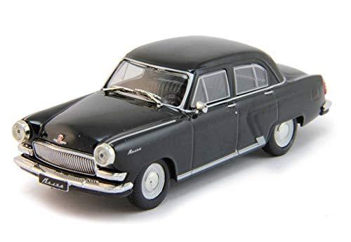Legendary Scale - GAZ-21 R Volga Black 1962 Year 1/43 Scale Legendary Soviet Car USSR Collectible Model Vehicle - Soviet Passenger Car by Gorky Automobile Factory (GAZ)