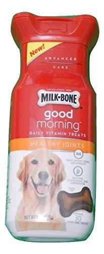 Milk-Bone Good Morning Daily Vitamin Dog Treats - Healthy Joints - 6 oz