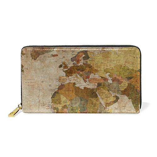 old world map bag - 1