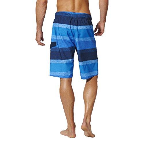 Adidas Y Graphic Kl Costume da Bagno, Blu (Azuimp/Blu/Maruni), 2XL