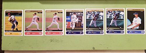 2002 Just Memorabilia Inc®_007 CARD LOT_GREENE, (2) HARDEN, LEE, (2) REYES, VICTORINO Just MinorsTM Justifiable 2002 Collection Baseball ()