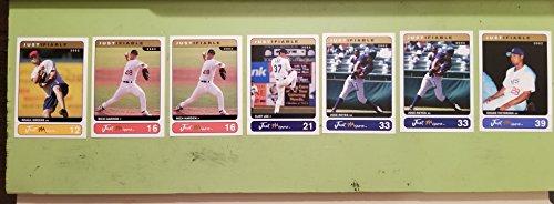 2002 Just Memorabilia Inc®_007 CARD LOT_GREENE, (2) HARDEN, LEE, (2) REYES, VICTORINO Just MinorsTM Justifiable 2002 Collection Baseball ()