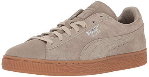 PUMA Men's Suede Classic Citi Fashion Sneaker, Vintage Khaki, 11 M US