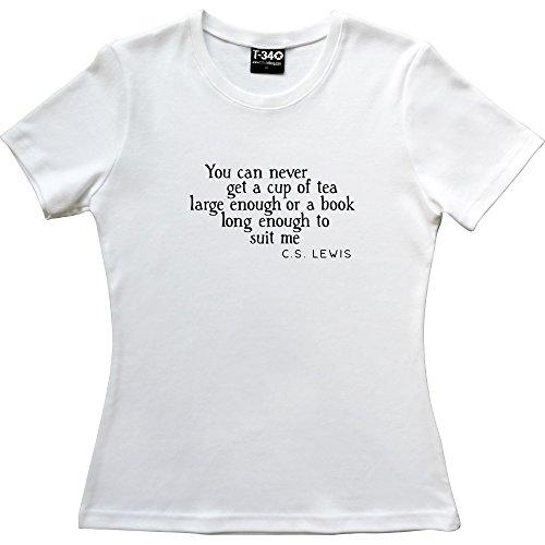 T34 - Camiseta - para mujer White Women's T-Shirt