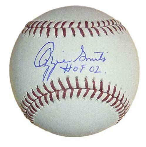 Ozzie Smith Autographed St Louis Cardinal OML Baseball HOF JSA ()