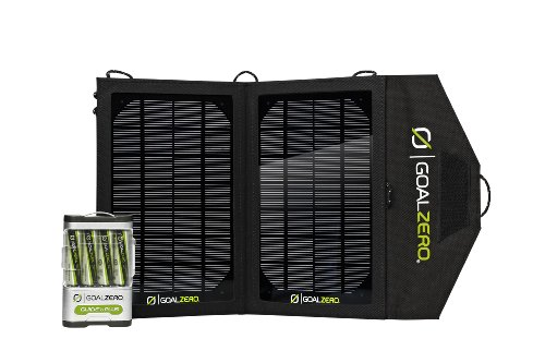 Goal Zero Guide 10 Plus Solar Recharging Kit with Nomad 7 Solar Panel by Goal Zero