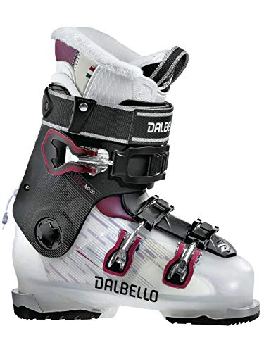 Dalbello Kyra MX 80 Womens Ski Boots 2018 - 25.5/Transparent-Black (Dalbello Ski Boots Women)