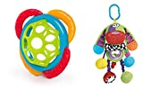 Baby Activity Colorful Rattle Doofy Dog on the go with Texture Oball grasp and teethe gift set