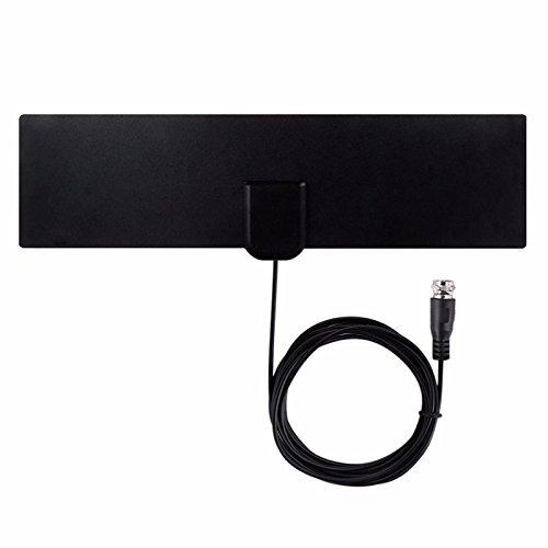 Ocamo Antenas Receptor + Amplificador de Señal para Interior TV Gratis,Antena Digital HDTV TV por Cable Fox,Antena DVB-T/T2...