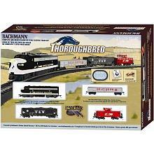 Bachmann Trains Thoroughbred Ready-to-run Ho Scale Train Set by Bachmann Industries Inc.