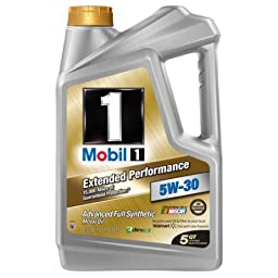Mobil 1 5W-30 Extended Performance Full Synthetic Motor Oil, 5 qt. By > Mobil 1 (Motor Oil)