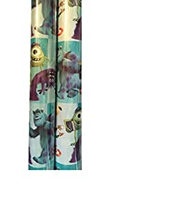Monsters Inc Gift Wrapping Paper Measures 45 Square Feet (1 ROLL)
