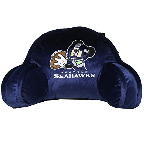 The Northwest Company Officially Licensed NFL Seattle Seahawks Field Goal Co Disney's Mickey Small Bedrest (Nfl Goal Field)