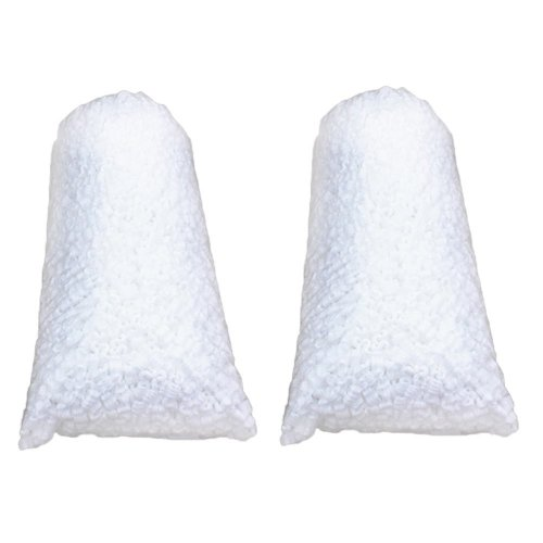 Packing Peanuts 6 Cuft. (2 Bags) White S-Shaped Anti Static Loose Fill Shipping Peanuts
