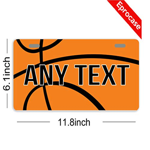 70 Off Eprocase Custom Personalized License Plate Basketball